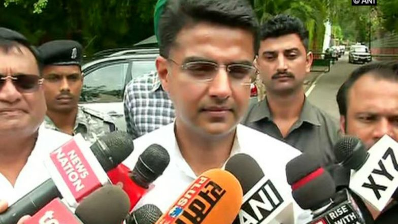 Ram Temple in Ayodhya: BJP Raises the Issue During Elections to Divert People's Attention From Real Problems, Says Sachin Pilot
