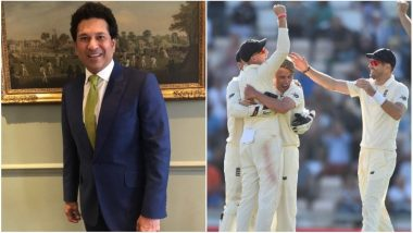 Sachin Tendulkar Congratulates England For Series Win Against India, Wishes Virat Kohli and Co for the last Test