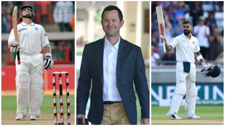 Sachin Tendulkar or Virat Kohli – Who's The Best? Here's What Former Australian Captain Ricky Ponting Has To Say (Watch Video)