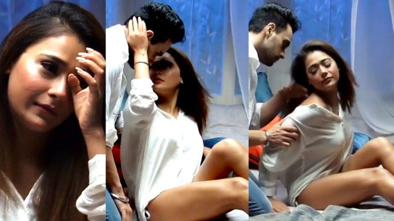 Sexy Sara Khan and Angad Hasija's HOT BEDROOM Scene Will Make You Sweat! - Watch Video