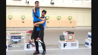 Saurabh Chaudhary Wins Gold, Arjun Singh Cheema Bags Bronze Medal in 10m Air Pistol Junior Men's Event at ISSF World Championships 2018