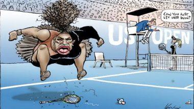 'Racist Serena Williams' Cartoon in Australian Newspaper Draws Global Backlash