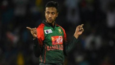 Bangladesh's Shakib Al Hasan Fined for Shouting at Umpire During the Match Against West Indies