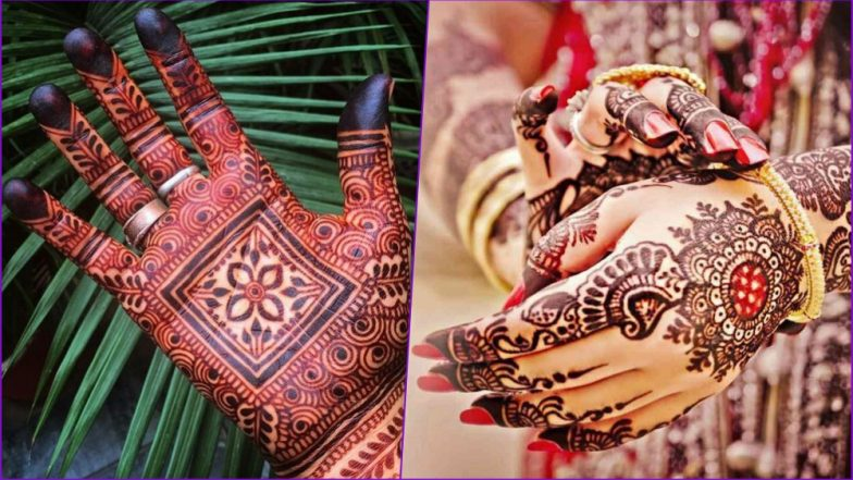 Easy Hartalika Teej 2018 Mehndi Designs Latest And Simple Ways To
