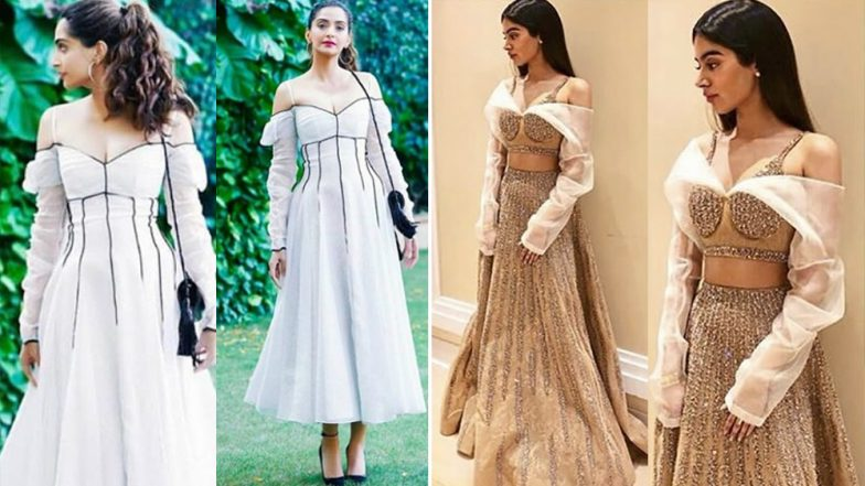 When Sonam Kapoor's Chic White Dress Reminded Us of Sister Khushi Kapoor's Previous Ethnic Outing