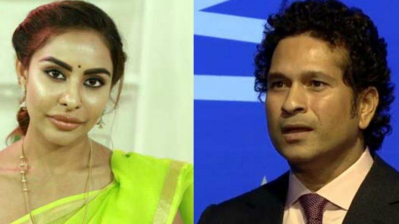 Tollywood Actress Sri Reddy Claims Sachin Tendulkar Was Romantically Involved With Charming Girl! Gets Slammed On Twitter!