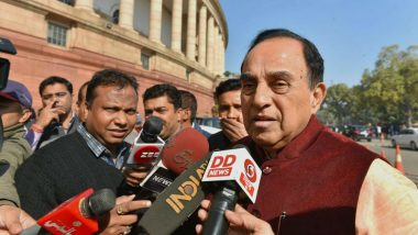Ram Mandir Construction Will Begin Before Diwali in Ayodhya, Says BJP MP Subramanian Swamy After Supreme Court Order