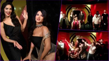 Sunny Leone Dances to Zingaat With Husband Daniel Weber to Celebrate Her Wax Statue at Madame Tussauds Delhi (Watch Video)