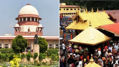 Supreme Court Asks Kerala Govt to Come Out with Exclusive Law for Administration of Sabarimala Temple