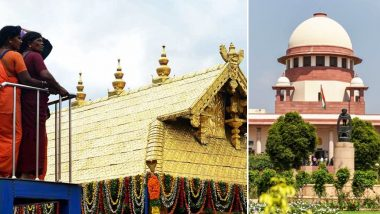 Sabarimala Review Plea Verdict: Supreme Court Refers Women's Entry Issue to Larger Bench