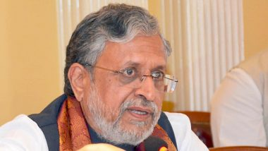 Please Don't Commit Crimes During Pitru Paksha, Sushil Kumar Modi Appeals to Criminals With Folded Hands; Watch Video