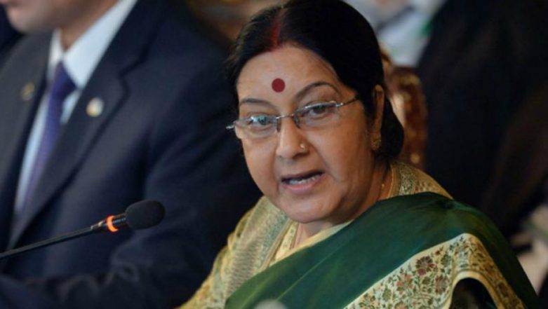 Hand Over Masood Azhar if You Are So Generous, Sushma Swaraj Tells Imran Khan