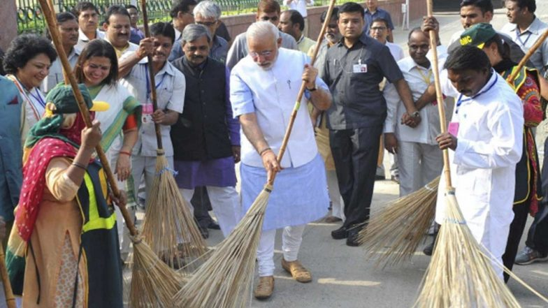 Difference Between 'Swachhata Hi Seva' & 'Swachh Bharat Abhiyan': A Mass Campaign Vis-a-Vis a Policy Measure to Boost Sanitation, Cleanliness