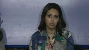 Swara Bhasker Contempt Case: Solicitor General Tushar Mehta Rejects Anuj Saxena's Application After AG KK Venugopal Declined Request to Initiate Proceedings Earlier (View Tweet)