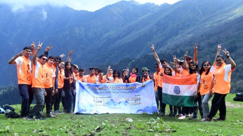 26 Young Indians With Type 1 Diabetes Scale Chandrakhani Pass at 13,000 Ft. in the Himalayas