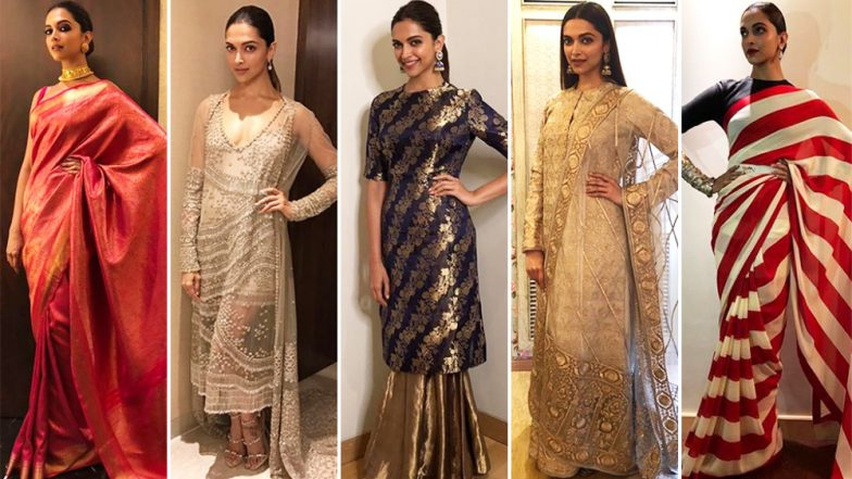 Ganesh Chaturthi 2018: Let Deepika Padukone Teach You How to Pull of Different Ethereal Looks – View Pics