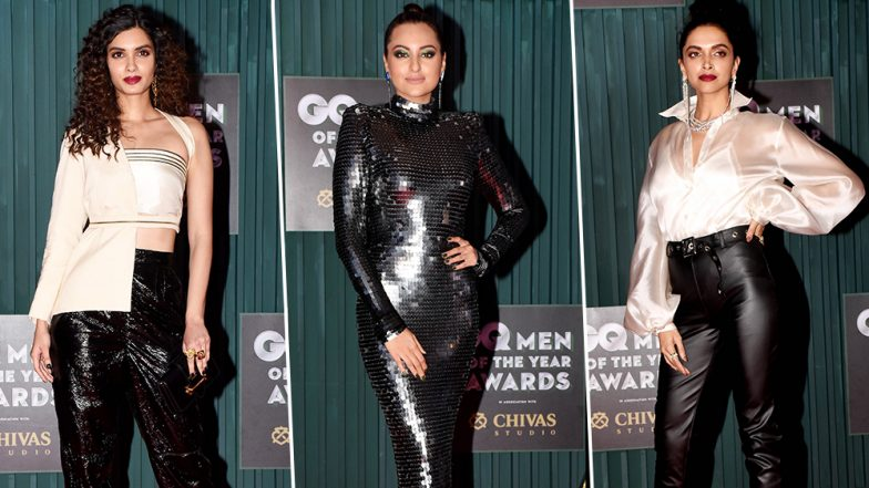 GQ Men of the Year Awards 2018 Worst Dressed: Deepika Padukone, Sonakshi Sinha and Diana Penty Made Us Wish They Hadn't Stepped Out of Their Homes