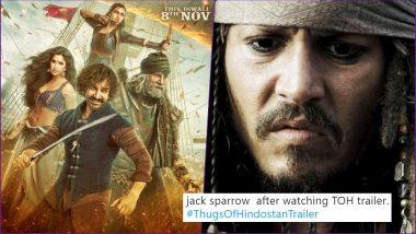 Thugs of Hindostan Trailer Video Funny Memes and Jokes on Twitter Calling Aamir Khan 'Garibo Ka Jack Sparrow' Are Hilarious