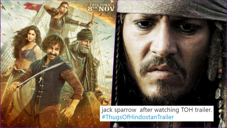 Image of: Funny Prank Thugs Of Hindostan Trailer Video Funny Memes And Jokes On Twitter Calling Aamir Khan garibo Los Angeles Corporate Photographer Thugs Of Hindostan Trailer Video Funny Memes And Jokes On Twitter