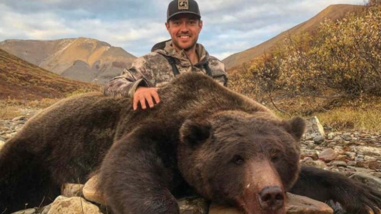 Former Hockey Player Tim Brent Receives Death Threats for Posting Photos of His Bear Hunt