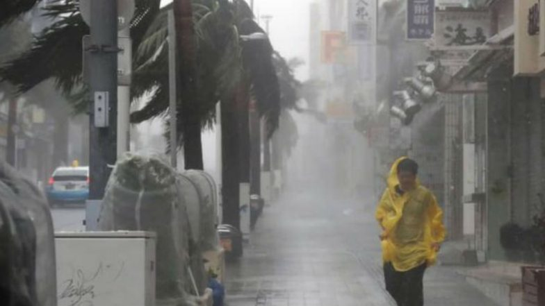 Typhoon Trami Hits Japan, 2 dead, 12 Injured