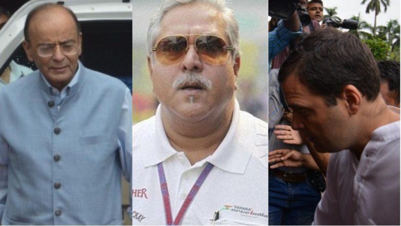 Rahul Gandhi Demands Arun Jaitley's Resignation Over His Alleged Meeting With Vijay Mallya