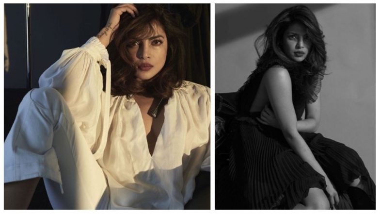 Hotness Alert! Priyanka Chopra Sizzles in 'Black and White' as She Wraps up The Weekend in Style - See Pics