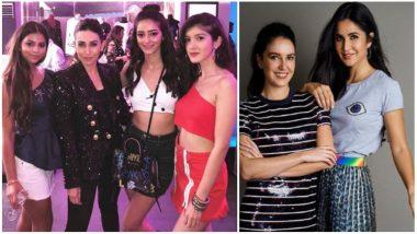Suhana Khan, Ananya Panday, Shanaya Kapoor's Stunning Photo With Karisma, Katrina Kaif and Isabelle Pose for the Papparazi- See ALL Inside Pics and Videos from Shweta Bachchan Nanda's Party