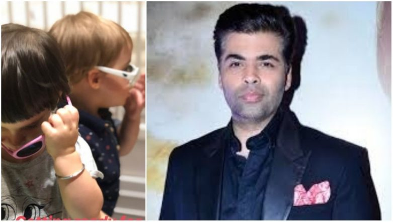 Karan Johar's Kids Yash and Roohi Have Their Shades, Style and Swag on Check! - See Pic