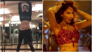 Sushmita Sen Shows off Her Sexy Belly Dancing Moves and Proves Why NOBODY Can Do 'Dilbar' Better Than Her! - Watch Video