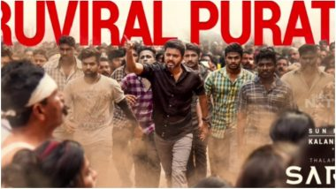 Sarkar Song Oru Viral Puratchi: Fans Can't Get Enough of Thalapathy Vijay in This AR Rahman Composition
