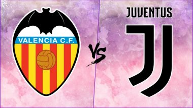 Valencia vs Juventus, UEFA Champions League Live Streaming Online With Time in IST: How to Get CL 2018–19 Match Live Telecast on TV & Free Football Score Updates in India?