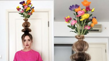 Flower Vase Hair Is the Latest 'Floral' Hair Trend and It Is Sweeping Instagram and Twitter (View Pics)