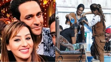 Bigg Boss 12: Shilpa Shinde and Vikas Gupta Watch the Samudri Lootere Task, Warn Contestants to Fear Salman Khan's Reaction on Weekend Ka Vaar