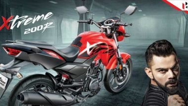 Virat Kohli Stunt in Hero Xtreme 200R Ad Invites Criticism for Rash Riding, Check Video