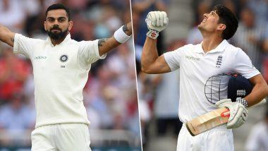 Alastair Cook Names Virat Kohli in List of 5 All-Time Greats