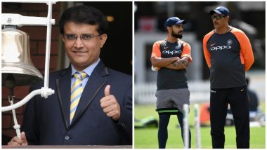Asia Cup 2018: Former Indian Captain Sourav Ganguly Takes A Dig At Head Coach Ravi Shastri (Watch Video)