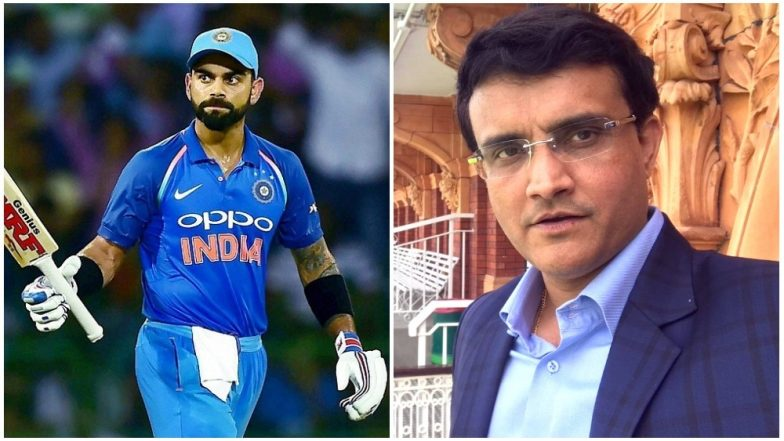 Virat Kohli is a Champion Player, Says Sourav Ganguly Ahead of Taking The Post of BCCI President