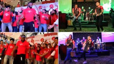 Chris Gayle Dancing on Dhadak's Zingaat Is More Fun Than His Dance Face-Off With Virat Kohli on Sairat's Zingat Song (Watch Videos & Decide)