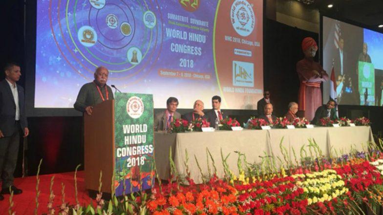 World Hindu Congress Delegates Receive Ladoos with a 'Unity' Message