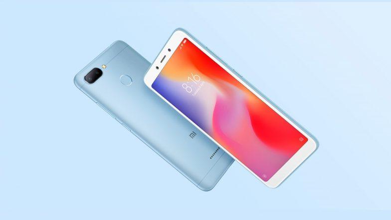 Xiaomi Redmi 6 First Sale Online Today at 12 PM at Flipkart & Mi.com