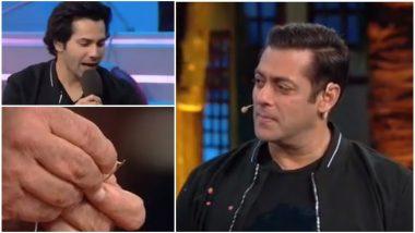 Bigg Boss 12 Preview Episode 7: Salman Khan Takes Varun Dhawan's Sui Dhaaga Challenge – Watch Video