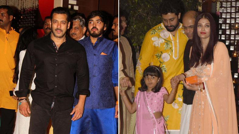 Ganesh Chaturthi Special: When Salman Khan and Aishwarya Rai Bachchan Came Under One Roof For Ganpati Celebrations! - Watch Video