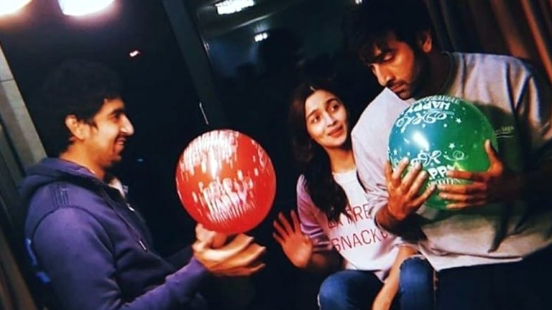 Alia Bhatt and Ranbir Kapoor Are Having a Blast on the Sets of Brahmastra and This New Picture Is a Proof