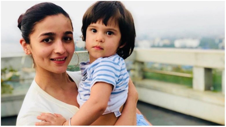 Alia Bhatt and Roohi Johar Pose Together as Yash Copies Daddy Karan Johar! (View Pics)