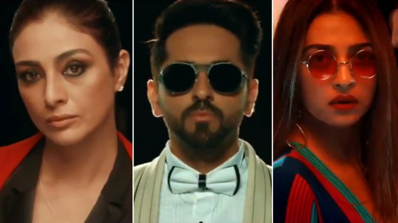 AndhaDhun Title Track: Radhika Apte, Ayushmann Khurrana and Tabu Keep The Mystery Around the Murder Alive - Watch Video