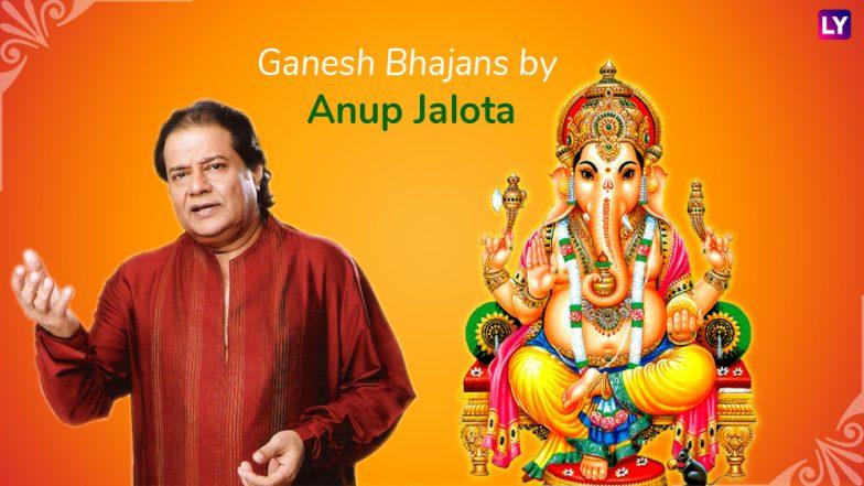 Best Anup Jalota Ganpati Bhajans and Songs: Ganesh Vandana to Ganpati Chalisa, Listen to these Devotional Tracks for Ganeshotsav 2018