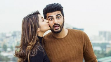 Parineeti Chopra Doesn't Feel Awkward Doing Make-Out Scenes With Arjun Kapoor, Says 'Because He Takes Care of Me'