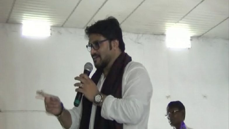 Babul Supriyo In Trouble: Complaint Lodged Against Union Minister For Threatening Man To Break His Legs at Event For Differently-Abled People