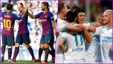 Barcelona vs PSV Eindhoven, UEFA Champions League Live Streaming Online With Time in IST: How to Get CL 2018–19 Match Live Telecast on TV & Free Football Score Updates in India?